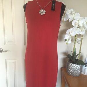 Willi Smith Red Dress Size 6